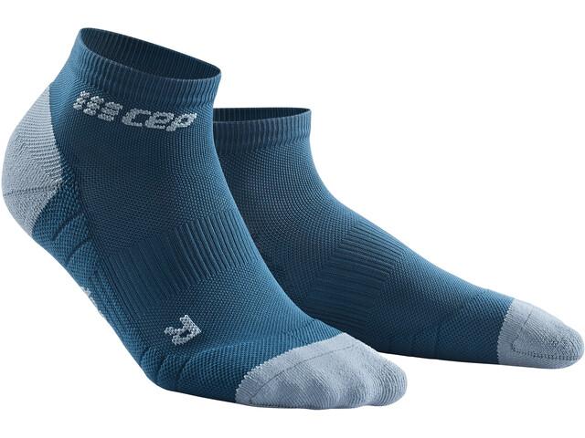 cep 3.0 Low Cut Socks Men, azul/gris